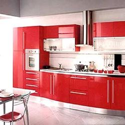 frp kitchen cabinet at rs 750 /square feet | modular kitchen