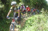 Mountain Bicycle Trip