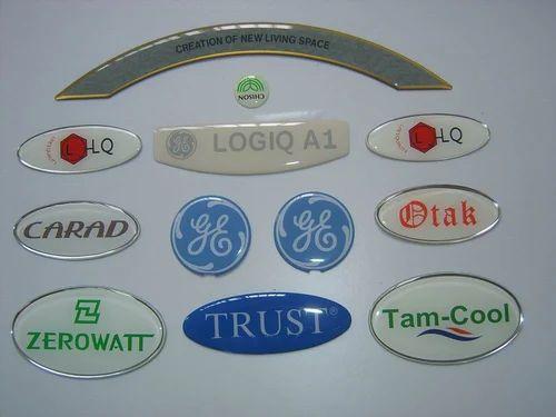 Epoxy or dome stickers