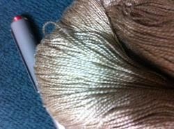 conifer Golden Muga Silk Yarns In Various Counts, For Knitting, Packaging Size: 6*12