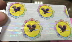 Holographic Varnish For Identity Cards