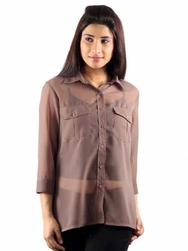 3cd38f23f2b7 Ladies Shirts - Dual Pocket Shirt Manufacturer from New Delhi
