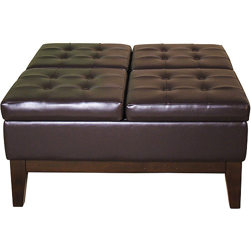 Leather Ottoman At Best Price In India