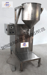 Semi- Automatic Standy Pouch Filling Machine