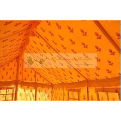 Interior Swiss Cottage Tents