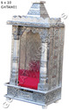 Two Door Aluminium Handicrafts Temple
