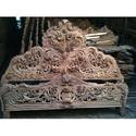 Wooden Carving Bed