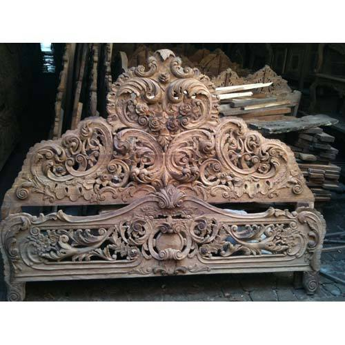Wooden Carving Bed View Specifications Amp Details Of Beds