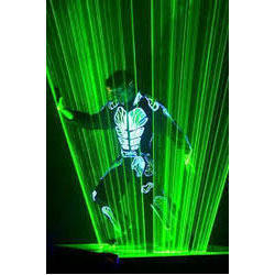 Laser Man Show Services