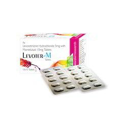 Levocetirizine 5 MG, Montelukast 10 MG (Bilayered)