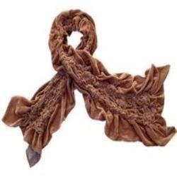 Kedarnath 58-Scarves Crussed 100% Viscose Rayon Velvet Fabric