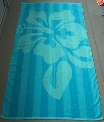 Printed Velour Towels