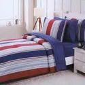 6pcs Stripes Bed Sheet Set