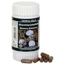 Herbal Hills Shankhpushpihills - 60 Memory Support Capsules