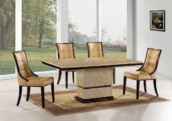 Furniture Marble Dining Table Manufacturer From New Delhi