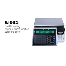 Label and Receipt Printing Scale