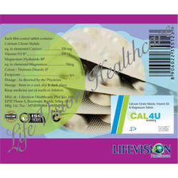 Calcium Citrate Malate Vitamin D3 & Magnesium Tablets