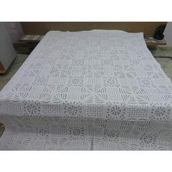 Jaipuri Handmade Cutwork Applique Bed Sheet