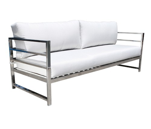 Stainless Steel Designer Sofa