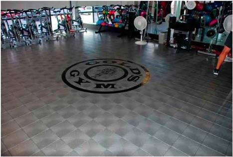 Workout Room Flooring
