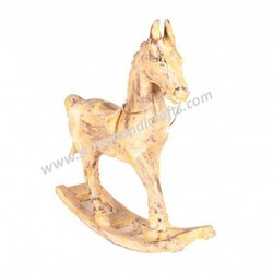 Horse Yellow Antique
