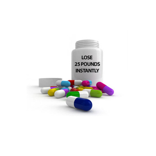 Pill Bottle with Capsules