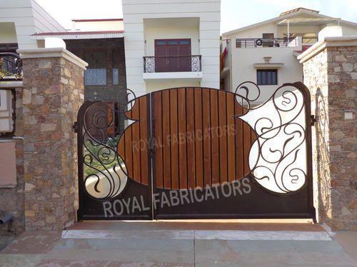 Wooden Gate Main Gates Kalaji Goraji Udaipur Royal Fabricator Id 6477664591  Wooden Main Gate Design For Home