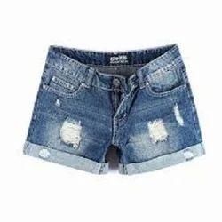 Ladies Denim Shorts Traders, wholesalers and Buyers