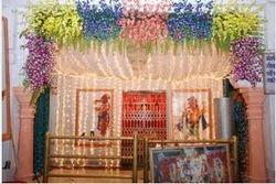 Mandir Floral Decoration