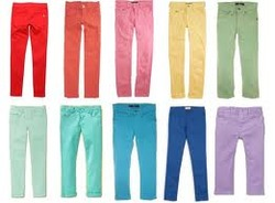 Colorful Kids Jeans