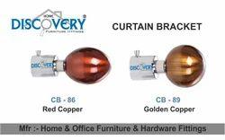 Copper Curtain Bracket