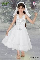 White Kids Gown
