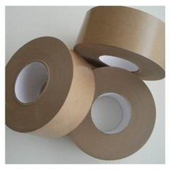 50 Meter Single Sided Kraft Paper Tape, For Box Packaging, Size: 2 inch
