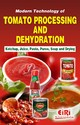 Book on Modern Technology of Tomato Processing Dehydration