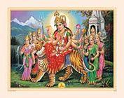 Durga Wall Poster