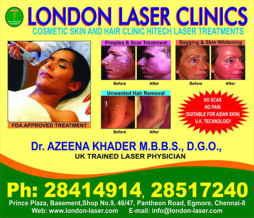 London Laser Clinics Service Provider Of Scars Moles Freckles