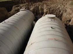 Below Ground Sewage Treatment Plant