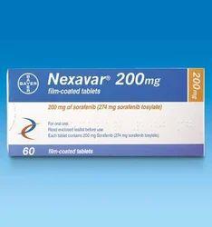 Nexavar Tablet, Packaging Size: 60 Tablets , 200mg