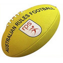 Rps Australian Rules Leather Rugby Football, Size: Standard