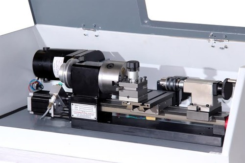 Semi Automatic Tabletop Cnc Lathe Floor Lathe Rs 120000