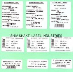 Barcode Counting Label