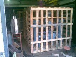Rectangular Wooden Crate Packing Box