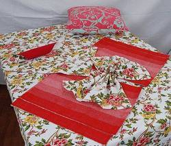 Table Placemat. Floral Printed Table Linen Sets ... & Table Placemat - Suppliers \u0026 Manufacturers in India