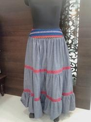 Designer Long Skirt