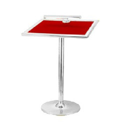 Single Pole Lecture Stand