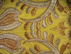 Machine Embroidered Fabric
