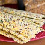Almond Flax Crackers