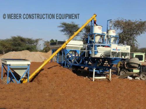 Mobile Concrete Batching Plant - Mobile Concrete Plant Manufacturer