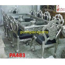 10 Chairs Dining Table Set