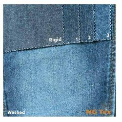 100% Mercerised Cotton Denim Fabric